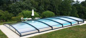 abri bas piscine Azenco