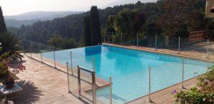 cloture de sécurité piscine